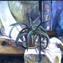 Patricia Bailey Blue Agave oil on canvas 36 x 42 inches