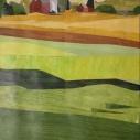 Paula Stark The Farm collage 10.75 x 8 inches
