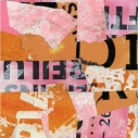 Hackescher Markt 1  Found Paper Collage  7.25 x 5.75 inches