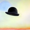 Richard Keltner Hat Pastel 25 x 38 inches(3)