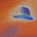 Richard Keltner Red Hat Pastel 21 x 29.5 inches