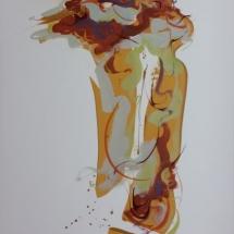 Coastal Breeze Acrylic on Paper 30.25 x 22.50 inches