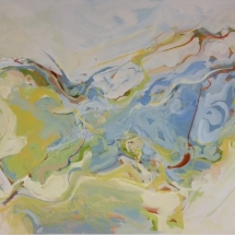 Summer Wind IV Acrylic on Paper  21.375 x 28.75 inches