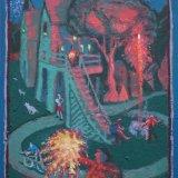 Alex Cohen Fireworks Oil on Board 15x12 $1700