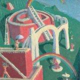 Alex Cohen Recursive Rainbows Oil on Board 21x13.5 $3600
