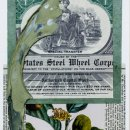 Blakelyn D Albright Terra Verte collage 7x5 inches