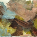 Golias - untitled 08, oil on paper 6 x 10 inches