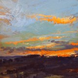 Anticipations Reward  oil on panel 12 x 12 inches