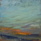 """SOLD Wissler """"Diminuendo"""" oil on panel 12 x 12 inches"""