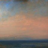 John David Wissler As Stars Begin oil on panel 35.25 x 48 inches