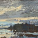 SOLD John David Wissler Before Breakfast oil on panel 12 x 24 inches