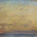John David Wissler Morning Fog oil on panel 26.25 x 32.25 inches