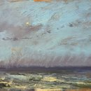 John David Wissler Nothing Stays the Same oil on panel 11.75 x 19.25 inches