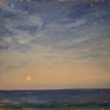 John David Wissler The Calm oil on panel 13.75 x 15 inches