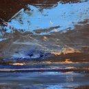 John David Wissler Western Way oil on panel 20 x 24 inches
