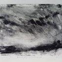 "Wissler ""Dusk Fog , Shade Gap"" monotype 5.75 x 7.75 inches"