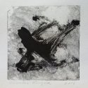 "Wissler ""Enigma"" monotype 4.5 x 4.5 inches"