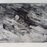 "Wissler ""Firmament"" monotype 5.75 x 7.35 inches"