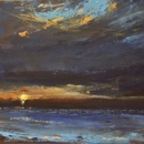 Beyond the Cove  oil on panel 12 x 24 inches (2)