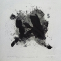 "Wissler ""Enigma II"" monotype 4.5 x 4.5 inches"