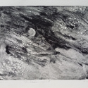 "Wissler ""Firmament"" monotype 5.75 x 7.35 inches"