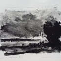 "Wissler ""Susquehanna River"" monotype 5.75 x 7.75 inches"