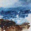 Aegean Studies II watercolor 12.250 x 9.5 inches