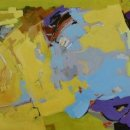 ABBY RUDISILL Distant Memory I acrylic on paper 21 x 29 inches $1600