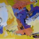 ABBY RUDISILL Distant Memory II acrylic on paper 21 x 29 inches $1600
