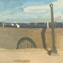 BRIAN REGO East Battery oil on board 14 x 15 inches $1600