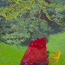 DOROTHY FREY A Seat at the Table oil on canvas 18 x 14 inches $950