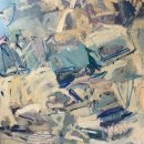 JAMES GALLAGHER Untitled 1 oil on canvas 40 x 30 inches $2400