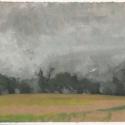 Michael Allen_Millbach Sunrise June 10 2013, oil on paper, 7.125 x 9.5