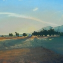 The New Day, 2015, oil on canvas, 52 x 92 inches