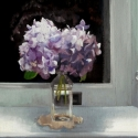 Hydrangea in Sink Light