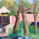 Lou-Schellenberg-Covered-Bridge-oil-on-linen-12-x-20-inches