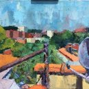 Tristan-Demmett-MGSoA-Flatbush-Ave-Rooftop-oil-on-canvas-20-x-24-inches