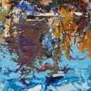 Robert-Bitts-4-Seasons-Series-Winter-acrylic-on-canvas-20-x-12-inches-SOLD