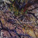 Robert Bitts Flotsam acrylic on canvas 63 x 31.5 inches 5000