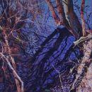 Robert Bitts Sun Swept acrylic on canvas 30 x 30 inches 1800