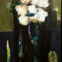 Poppies (1996) acrylic on canvas 16 x 12 inches