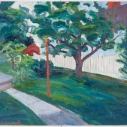 Back Yard II  Oil on Linen  30 x 36 inches
