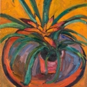 Tropical_Plant_Oil_on_Canvas_18_x_16_inches