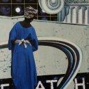 Tanis Garber Shaw Bamiyan Buddha collage 7x5 inches