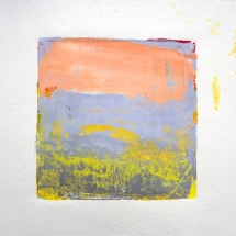 Monotype No. 1  ink and gouache on paper