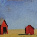2 March 2012 - oil on board 5&quot; x 8&quot; 