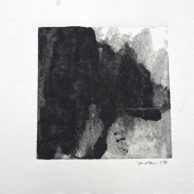 Monotype Maine No. 1  black ink on paper