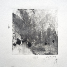 Monotype Maine No. 10  black ink on paper