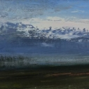 After the torchlight arrives oil board 8x24
