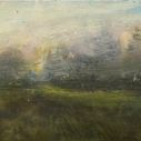 KOCHER Gold Rush Oil on Board 6 x 12 inches